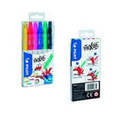 Packs 6 rotuladores frixion colors