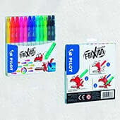 Pack 12 rotuladores frixion colors