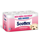 Papel higiénico Scottex original
