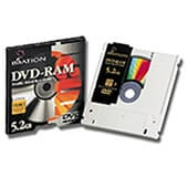 Pack 5 DVD-r Imation 9.4GB branded type 4 2 caras