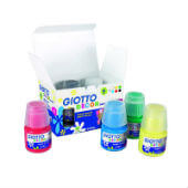 Témpera Giotto Decor Acrylic 6 botes 25ml surtidos