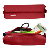 Estuche - Bolsa portatodo OfficeBox rojo