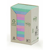24 blocs POST-IT® reciclado 38x51