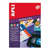 Etiquetas adhesivas mini Data cartridge 72x21,15mm
