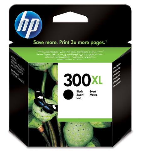 Cartucho de tinta original HP 300xl negro