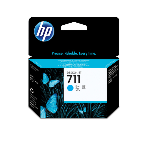 HP cart. inyeccion tinta cyan 711 29ml