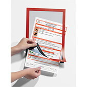 Marco Duraframe® Durable A4 color rojo (pack 2)