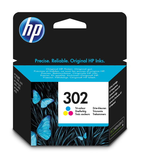 Cartucho de tinta original HP 302 tri-color