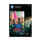 HP papel premium glossy photo 20h 240gr.(10x15)
