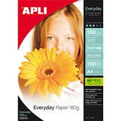 Papel brillante Apli Everyday 180gr