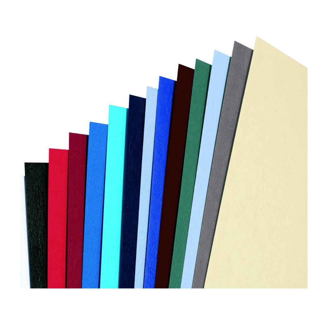 color azul Forro A4 100 unidades GBC
