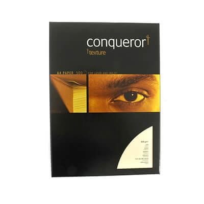 Paquete papel Conqueror A4 verjurado marfil 500h