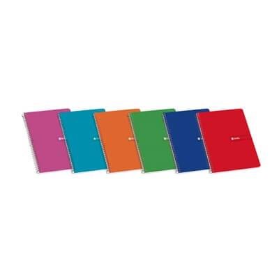 Cuaderno Enri folio 80 hojas C4 colores varios