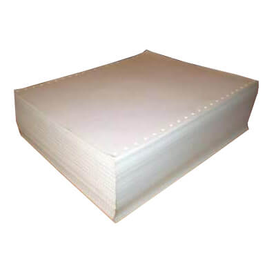 Caja papel 12x24 blanco 1 tanto 2500h