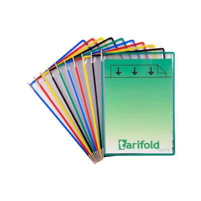 Paquete 10 fundas clasificador Tarifold surtidas
