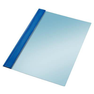 Dosier fastener Folio tira completa azul
