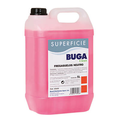 Garrafa fregasuelos neutro buga (5 litros)