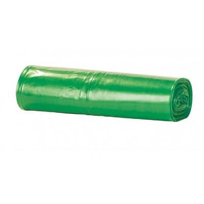 Bolsa de basura verde (vidrio) 50x64 (25uds)
