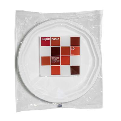 Paquete 10 platos octogonales 250mm