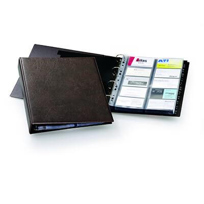 Tarjetero Durable Visifix A4 para 400 tarjetas