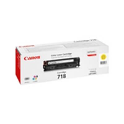 Tóner Canon 718 amarillo i-sensys lbp-7200