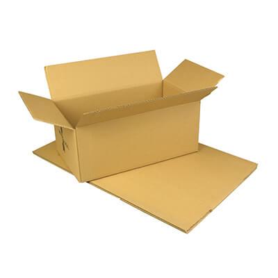 Pack 10 cajas de embalaje 26x21x10 cm