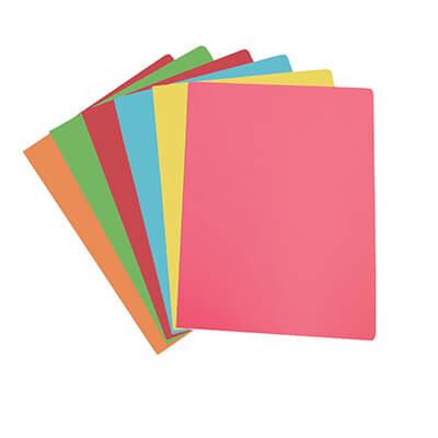 Paquete 50 subcarpetas A4 colores surtidos