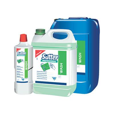 Botella lavavajillas wash profesional 1 litro