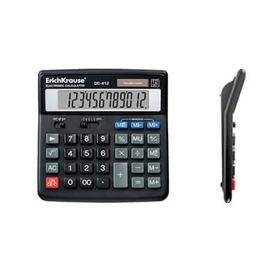 Calculadora sobremesa DC-412 12 dígitos