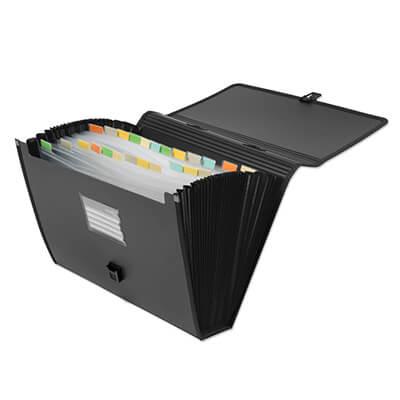 Expanding file A4 con 24 separadores