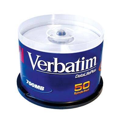 Bobina 50 CD-r Verbatim 700 MB