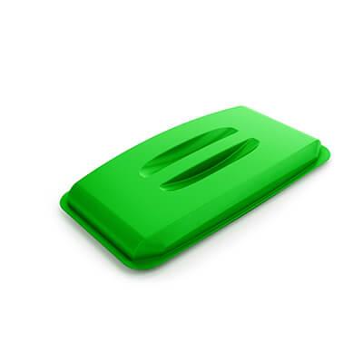 Tapa verde para contenedor Durabin 60 litros
