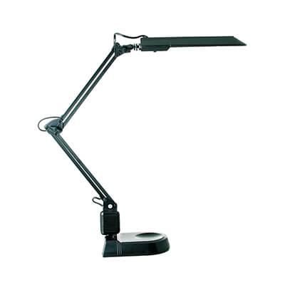 Lampara fluorescente modelo orzan-ecostan negra