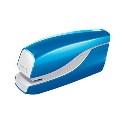 Grapadora eléctrica Petrus E-310 azul WOW