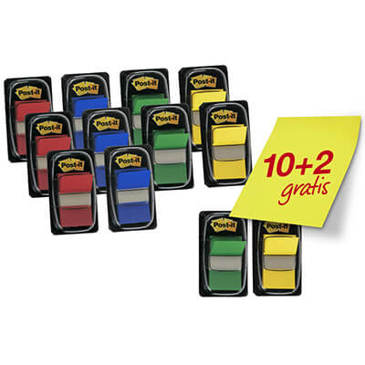 Pack POST-IT® Index 10+2 gratis