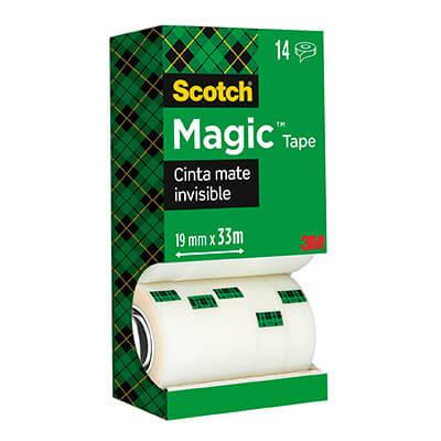 Pack ahorro cinta Scotch® Magic 12+2 gratis