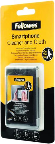 Kit limpiador Fellowes para smartphone