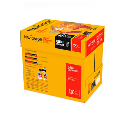 Caja papel Navigator Presentación A4 120gr 2000h