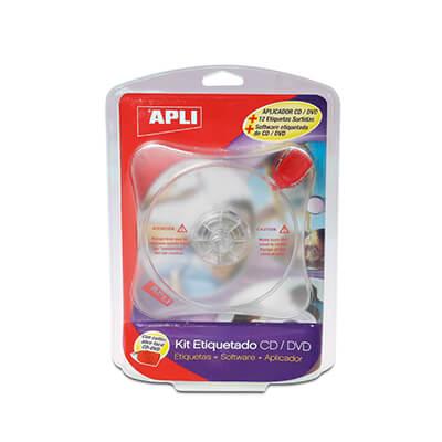 Kit de etiquetado CD / DVD