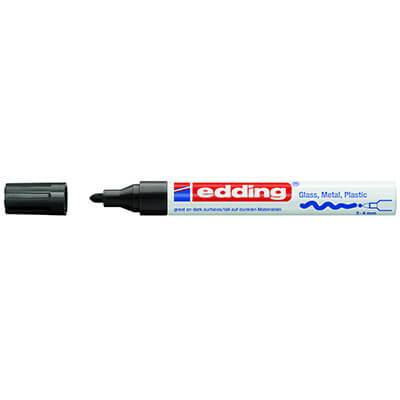 Rotulador edding 750 negro