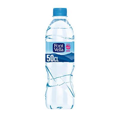 Botella agua Font Vella 0,5 litros (pack 24)