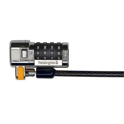 Cable para portátil Kensington con clicksafe
