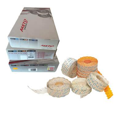 Caja 30 rollos de 700 etiquetas meto 29x28
