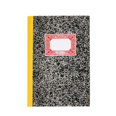 Cuaderno Cartoné 1/4 natural horizontal