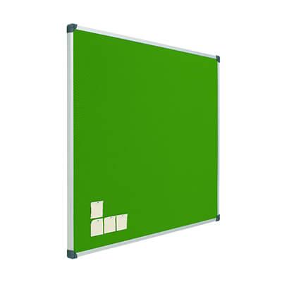 Tablero de corcho tapizado 40x60 verde