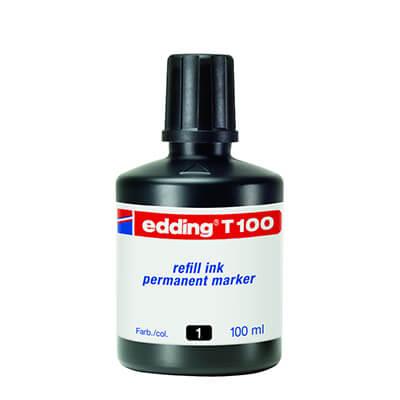 Tinta edding T100 negra