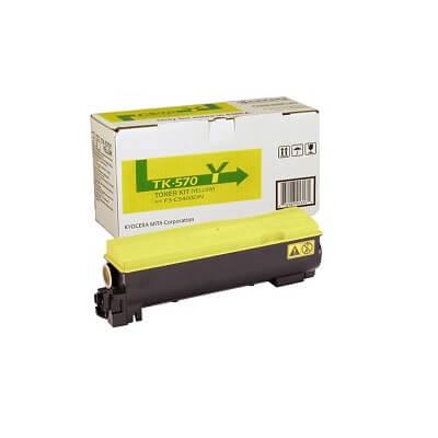 Tóner Kyocera TK-570 amarillo