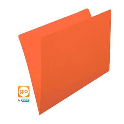 Subcarpeta Folio naranja (50u)