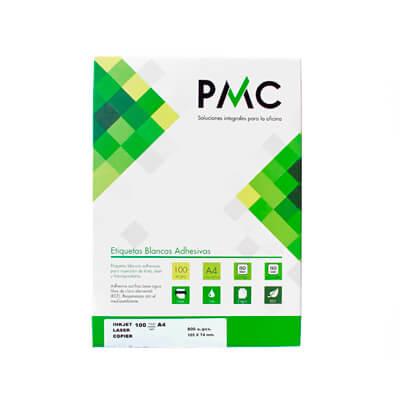 Etiquetas PMC A4 38x21,2 (100h)