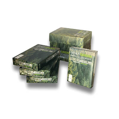Caja papel reciclado A4 80gr 2500h